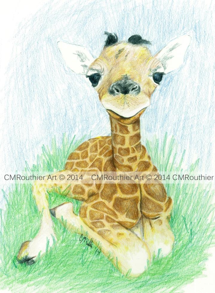 Baby Giraff WtrMark