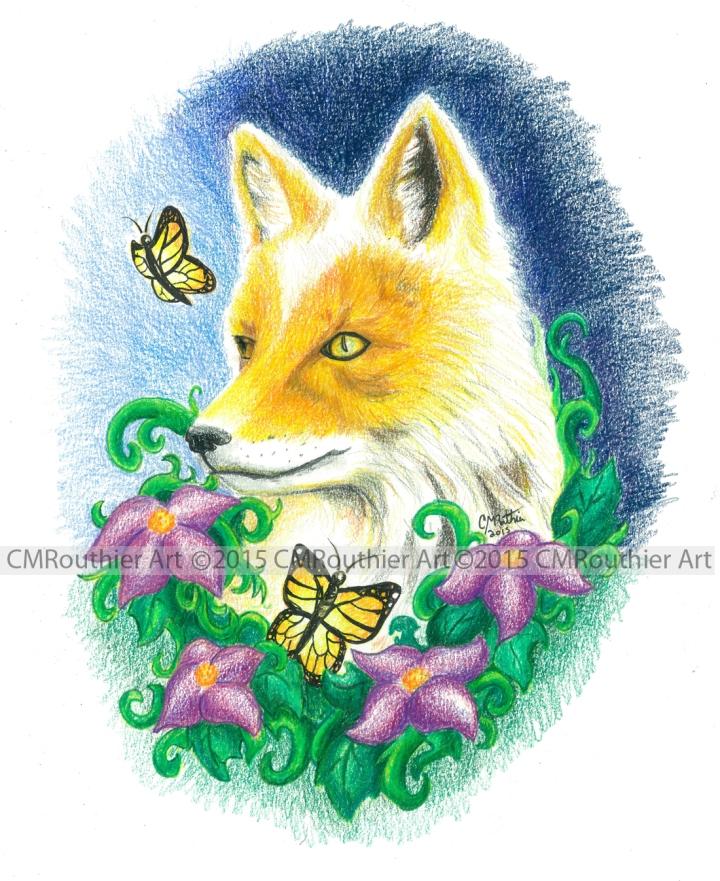 Fox Garden-Marked CMRouthier